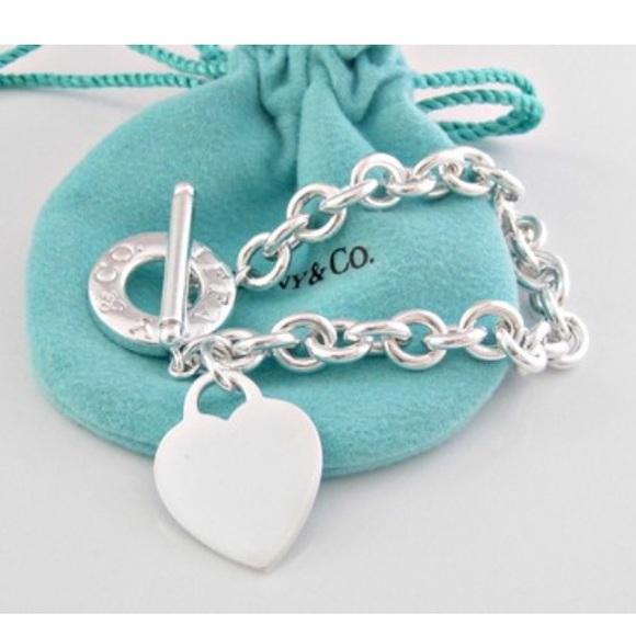 a4d59b90c Authentic Tiffany & Co. Heart Tag Toggle Bracelet.  M_5940adcc2fd0b7bc2100674f