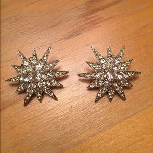 Kenneth Jay Lane Starburst Earrings