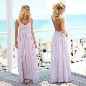 pink lily boutique Dresses - Once in a lifetime Maxi dress in yellow