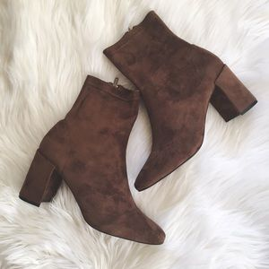 Jeffrey Campbell Cienega Brown Ankle Boots