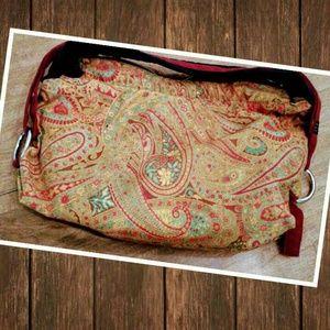 1154 Lill Studio Handbags - Hippie soho retro reversible purse