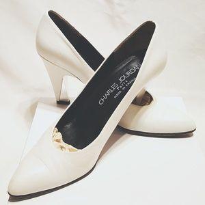 Charles Jourdan Shoes - Charles Jourdan Couture Vintage Detailed heels