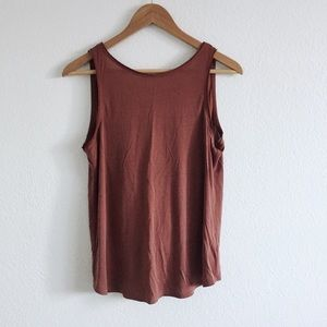silence + noise Backless Tank Top