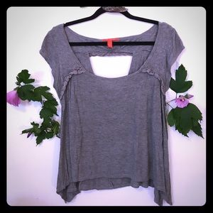 Chelsea & Violet Tops - Grey Summer Shirt