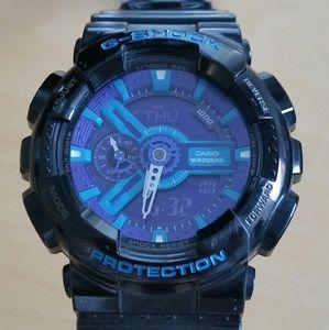 casio Other - G-Shock Black Blue Purple