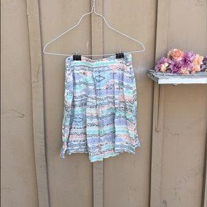 Dresses & Skirts - Pastel Aztec Skater Skirt