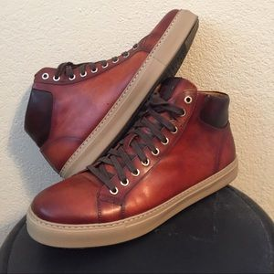 Magnanni Other - Magnanni Mario high top sneakers size 11.5