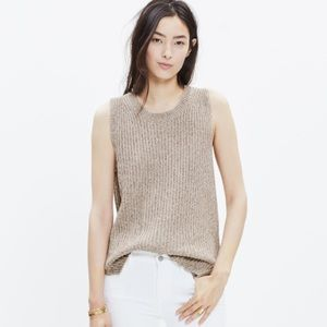 Madewell Sweaters - Madewell sleeveless tunic sweater (marked rope)
