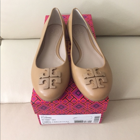 5be90d1fa2d5 New Tory Burch Lowell 2 ballet flat