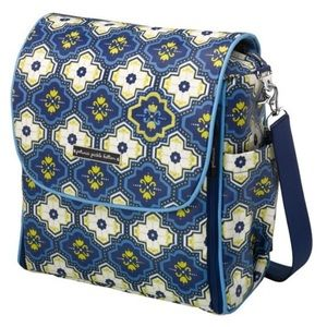 Petunia Pickle Bottom Handbags - Petunia Pickle Bottom Mystic Mykonos Boxy Bag