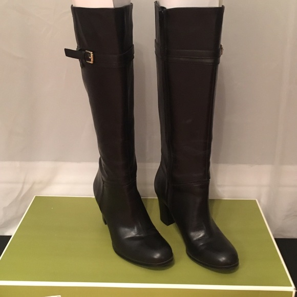115d8be8b93 Naturalizer Larissa Black knee-high Boots NWT