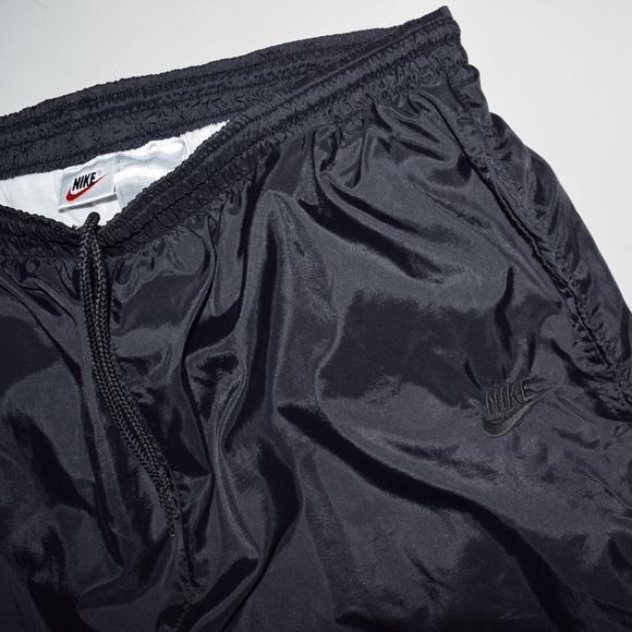 eeb16789b436c Rare Vintage VTG 90's Nike Lined Windbreaker Pants