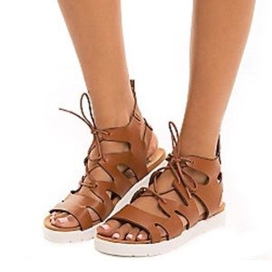 SOLD Lace Up Sandals