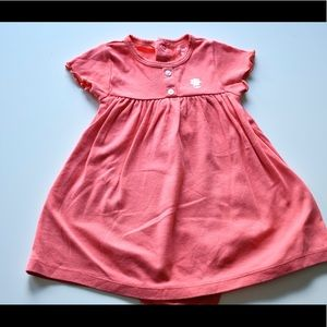 Carter's Other - Peach 🍑 color baby girl frock