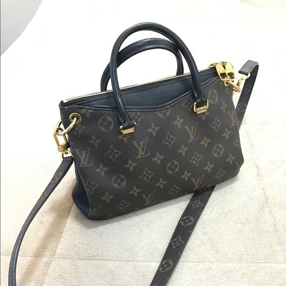 fc18dbcc2f9b Louis Vuitton Handbags - Louis Vuitton Full Noir Pallas BB Black Handbag