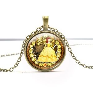 Other - 🌟 NEW 🌟Beauty and the beast necklace.