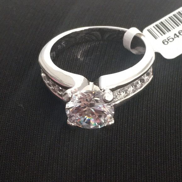 Zales zales 14k white gold engagement ring from for Where is zales jewelry