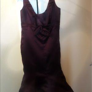 Alvina Valenta Dresses & Skirts - Alvina Valenta size 6 plum satin dress
