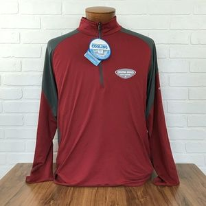 Columbia Sportswear company Other - Columbia Red Hilton Head Long Sleeve Pullover Top