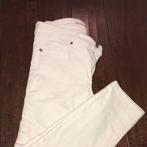 KORS Michael Kors Pants - Michael Kors Skinny White Ankle Jeans Size 2 NWT