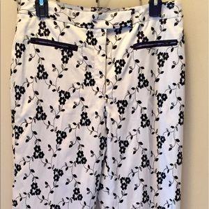 etcetera Pants - Etcetera white and black pants