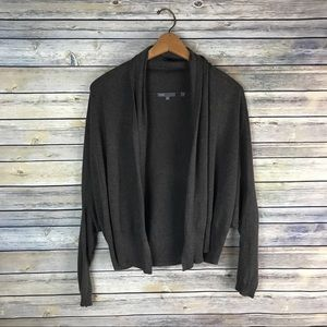 Vince Brown Cashmere Blend Shrug Cardigan