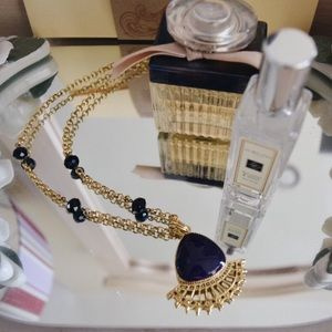 Jewelry - Purple Amulet Necklace