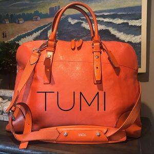 Tumi Handbags - Tumi All Leather Business Bag