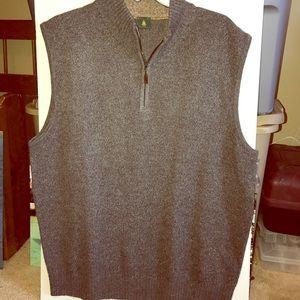 Robert Talbott Other - Robert Talbott Spence II 1/4 zip mock vest NWT L