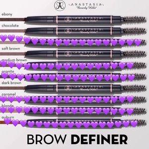 Anastasia Beverly Hills Other - Anastasia Beverly Hills brow definer DARK BROWN