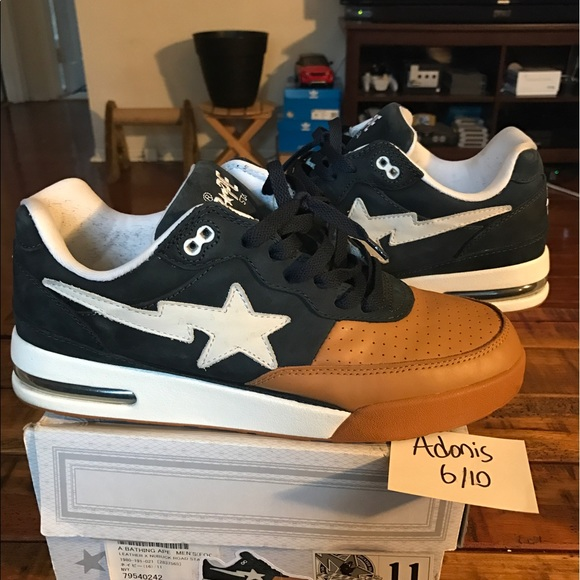 94b3031fb970 Bape Other - 2013 Bape Roadsta Leather Nubuck sz11