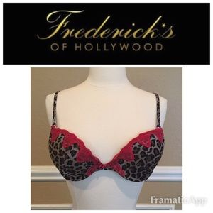 Frederick's of Hollywood Other - Frederick's Of Hollywood Leopard Print Bra