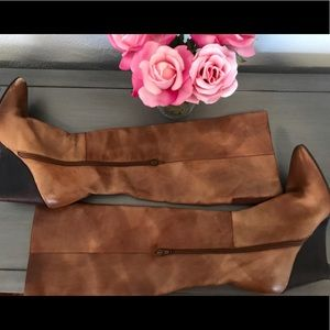 Stuart Weitzman Shoes - Stuart Weitzman Leather Wedge Boot