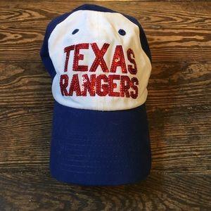 VS PINK Texas Rangers hat