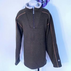 Kuhl Other - Kuhl Green Fleece Pullover Sweater