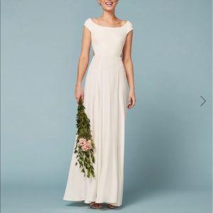 Reformation Sera Wedding Dress.