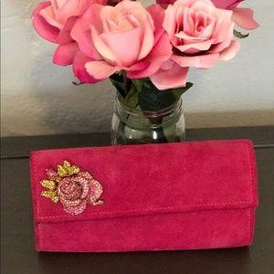 Julie Feldman Handbags - 🌷Julie Feldman Suede Pink Clutch 🌷