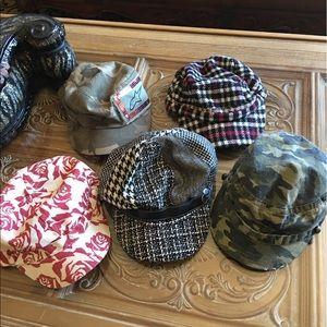 Alpinestars Accessories - Lot of 5 adorable hats caps Camo plus more