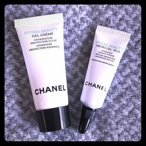 CHANEL Other - Chanel Hydra Beauty Face+Eye Cream Minis Bundle 💦