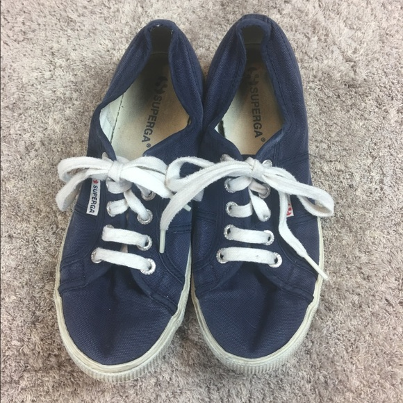 Classic 65 Navy Canvas Keds Sneakers