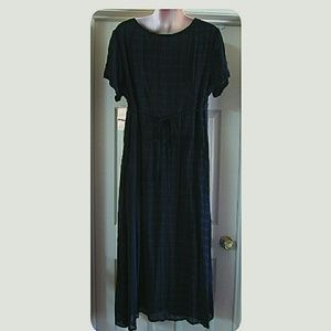 Amanda Smith Dresses - BBW Amanda Smith II NWT'S Beaded Navy Dress 2X