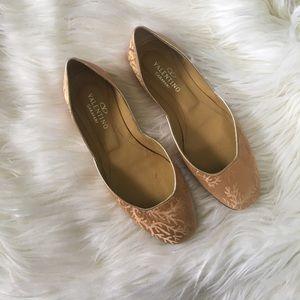Valentino Garavani Shoes - Authentic Valentino Nude Flats
