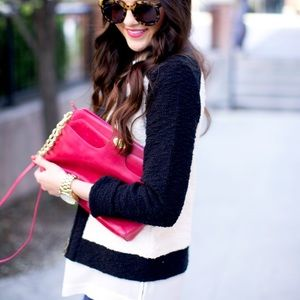 J. Crew Sweaters - J.Crew boucle jacket in colorblock