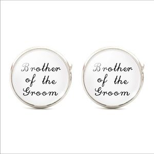 Other - Men cufflink, cuff links, groom, wedding cufflink