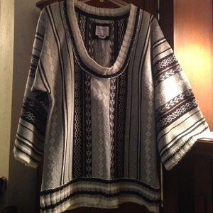 Beautiful heavy fair isle type sweater