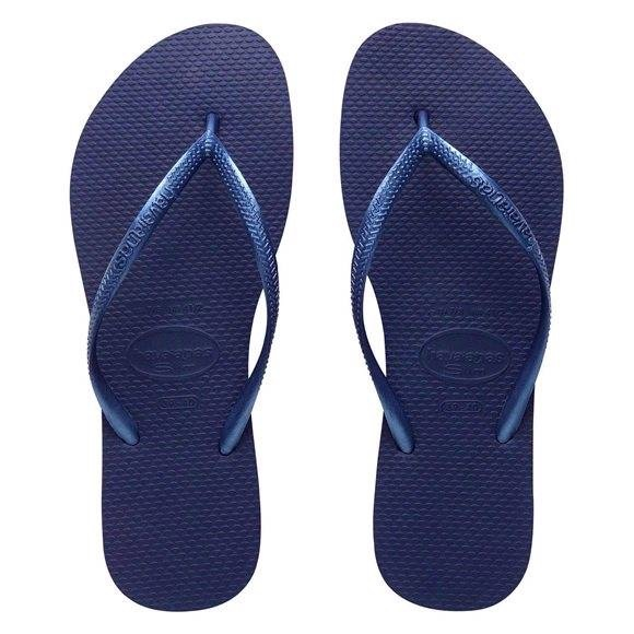 33 Off Havaianas Shoes - Slim Metallic Navy Blue Havaiana -7124