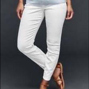 GAP Denim - GAP • maternity white jeans