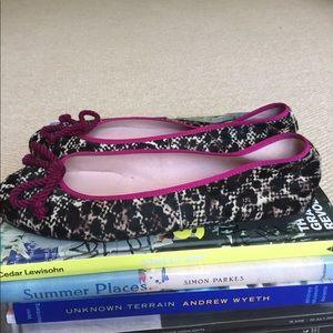 Pretty Ballerinas Shoes - Animal Print Calf Hair Flats from Anthropologie
