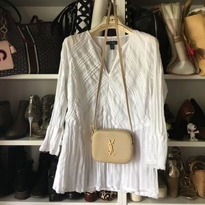 White summer blouse