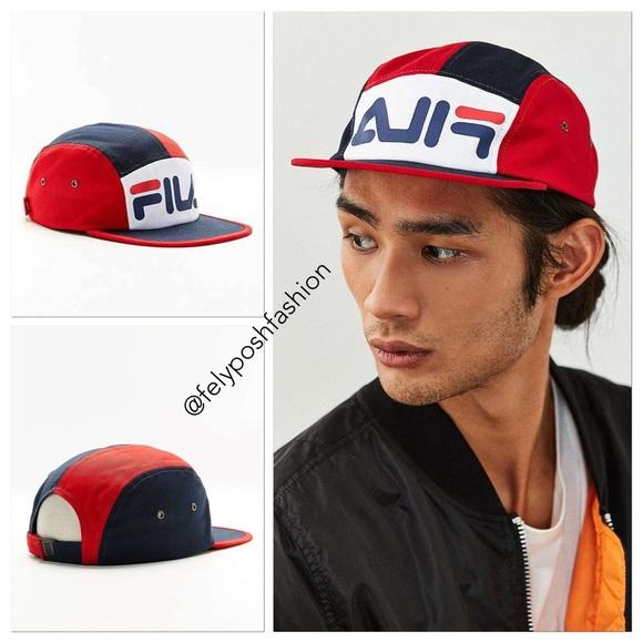 9bb8d433fb5 Fila Men s Blue + Uo 5-panel Hat